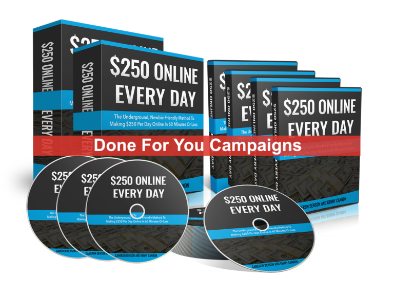 $250 Online Every Day