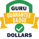 Guru Guarantee Badge Dollars